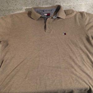 Men's Tommy Hilfiger Cream Polo Shirt